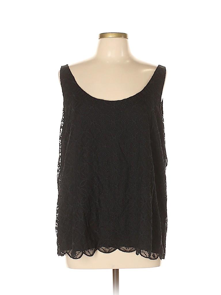 Ann Taylor LOFT Women Sleeveless Blouse Size XL