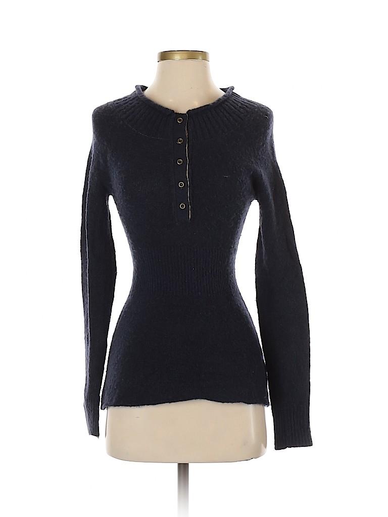Free People Women Wool Pullover Sweater Size XS
