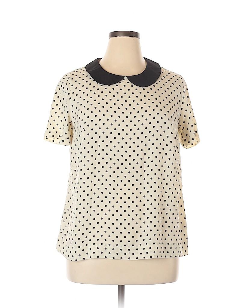 Merona Women Short Sleeve Blouse Size XL