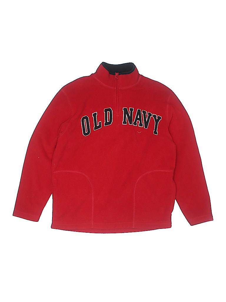 Old Navy Boys Fleece Jacket Size L (Youth)