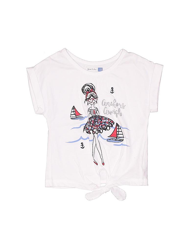 Assorted Brands Girls Short Sleeve Top Size 4