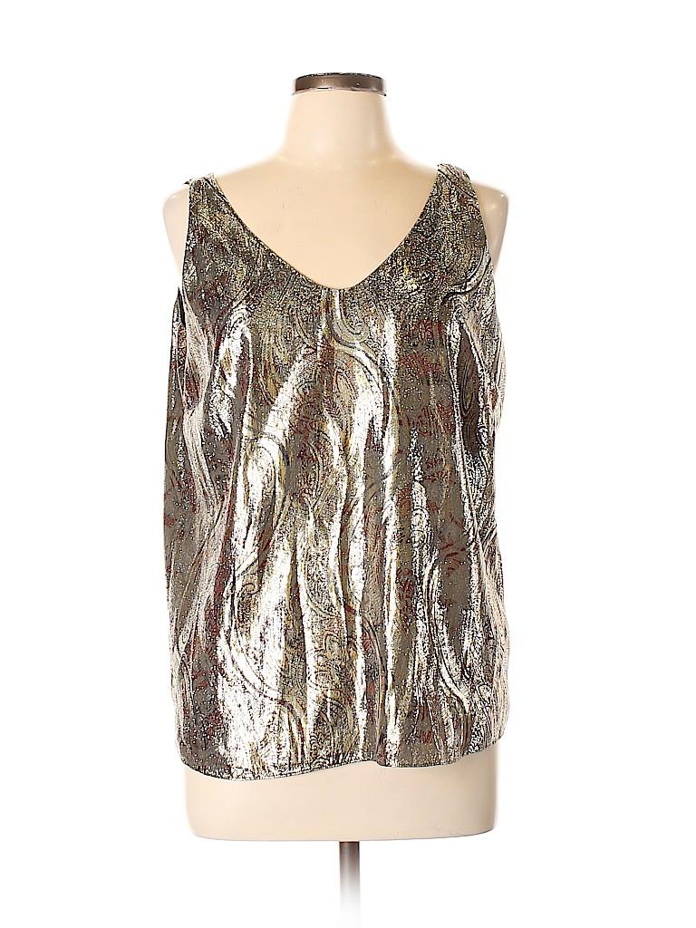J. Crew Women Sleeveless Silk Top Size 12