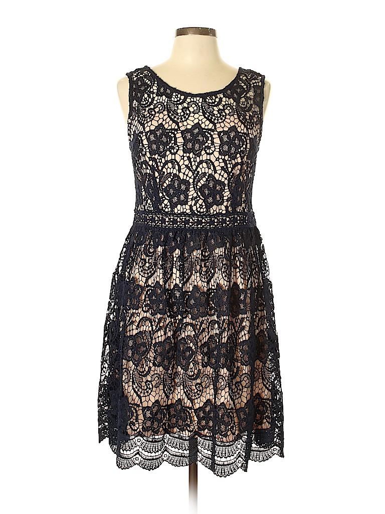 Soieblu Women Casual Dress Size L