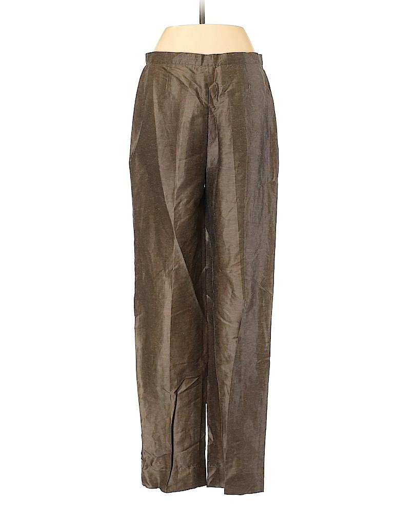 Max Mara Women Linen Pants Size 38 (IT)