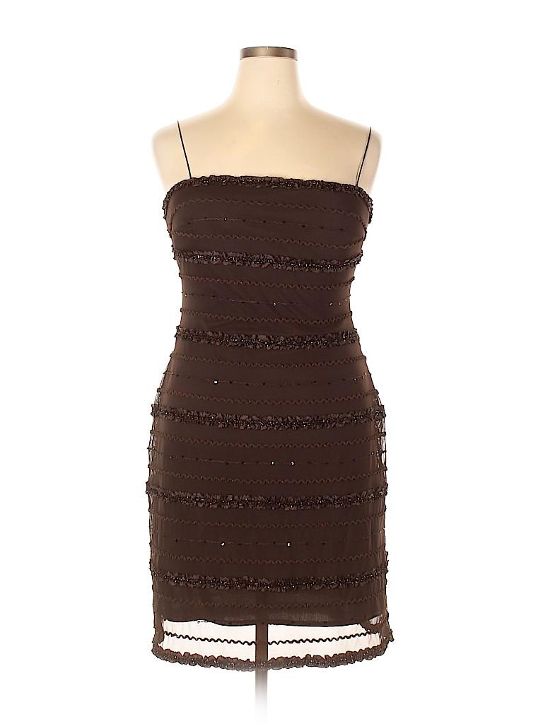 JS Collection Women Cocktail Dress Size 14 (Petite)