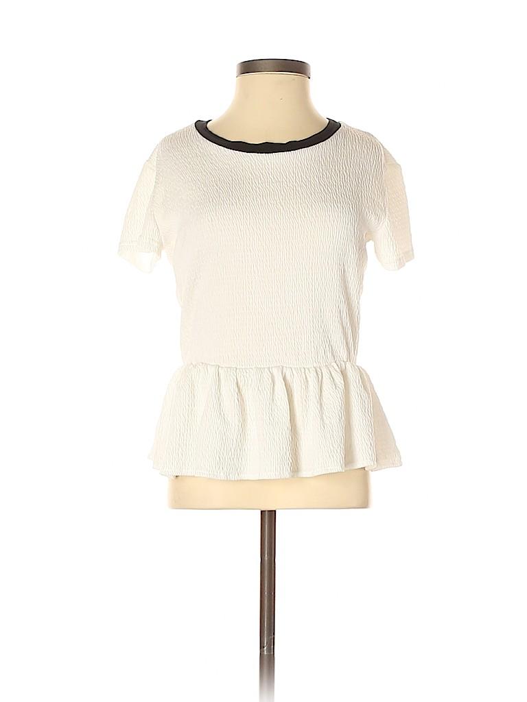 Miss Selfridge Women Short Sleeve Top Size 6