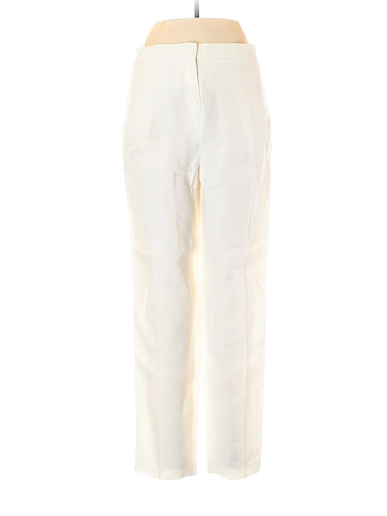 Max Mara Women Linen Pants Size 46 (IT)