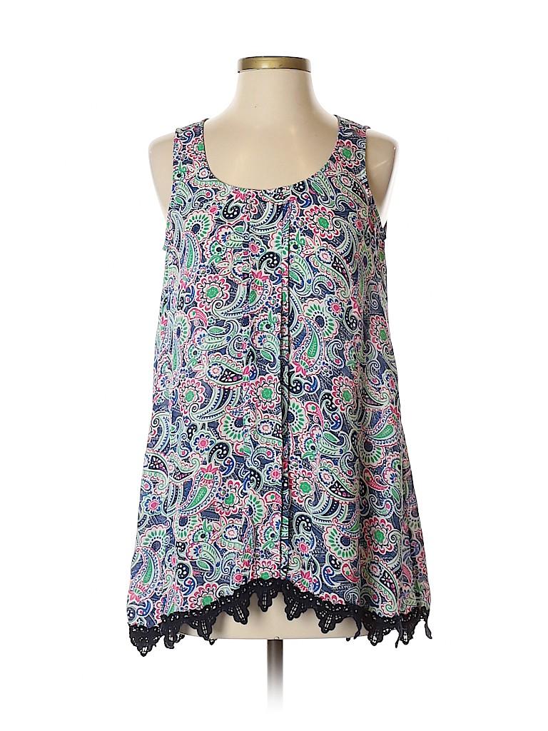 Charming Charlie Women Sleeveless Blouse Size S