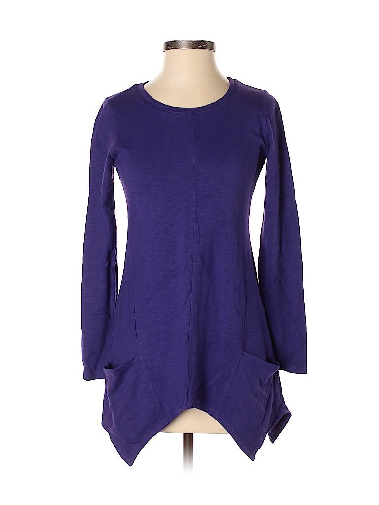 LOGO by Lori Goldstein Women Long Sleeve Top Size XXS