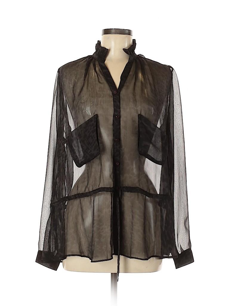 Mcginn Women Long Sleeve Blouse Size 8