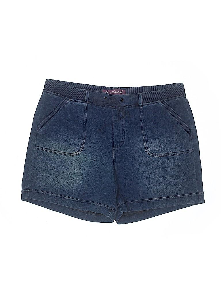 Gloria Vanderbilt Women Denim Shorts Size 16
