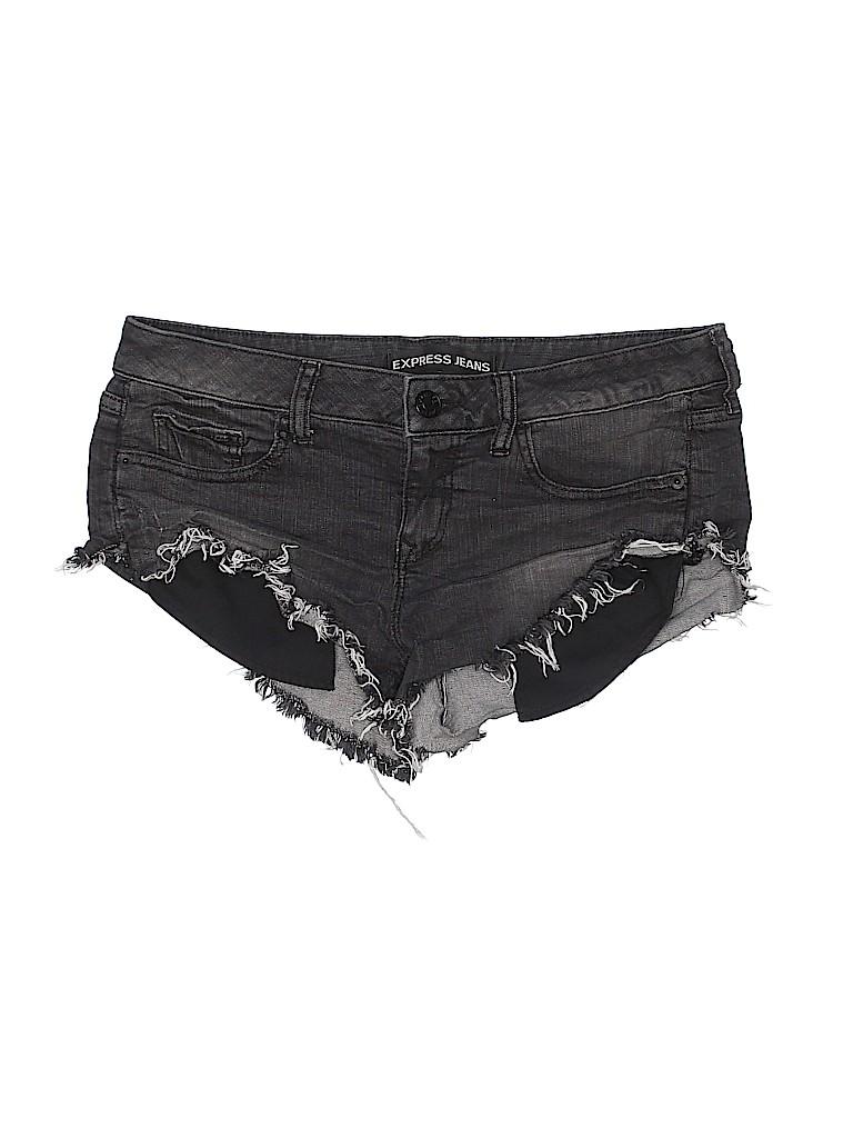 Express Jeans Women Denim Shorts Size 8