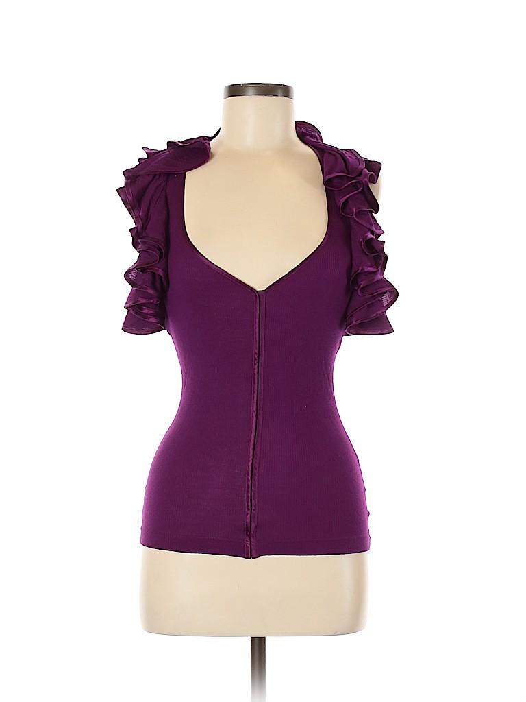 Robert Rodriguez Women Short Sleeve Top Size XS
