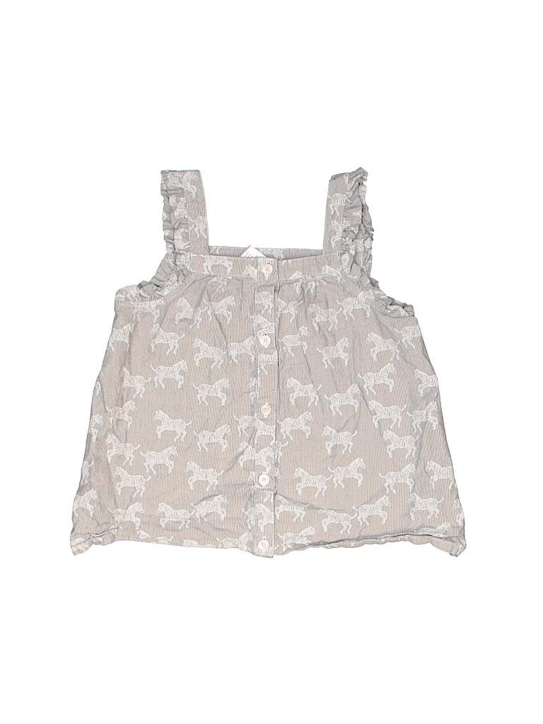 Gymboree Girls Sleeveless Blouse Size 5