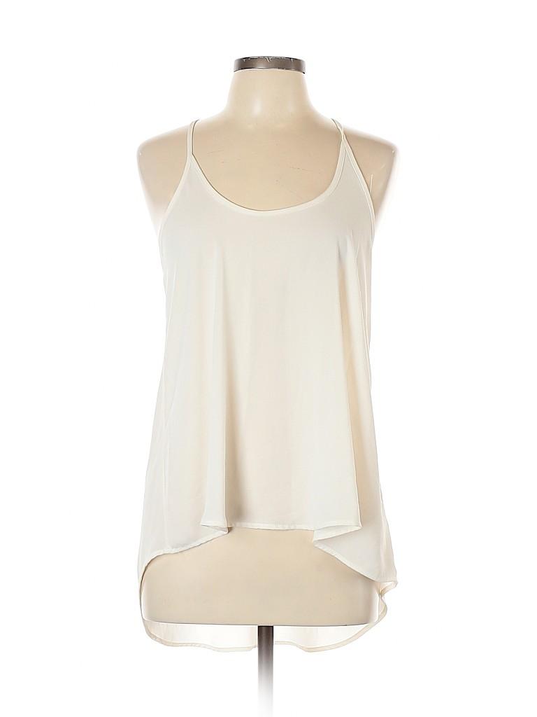 Lush Women Sleeveless Blouse Size L