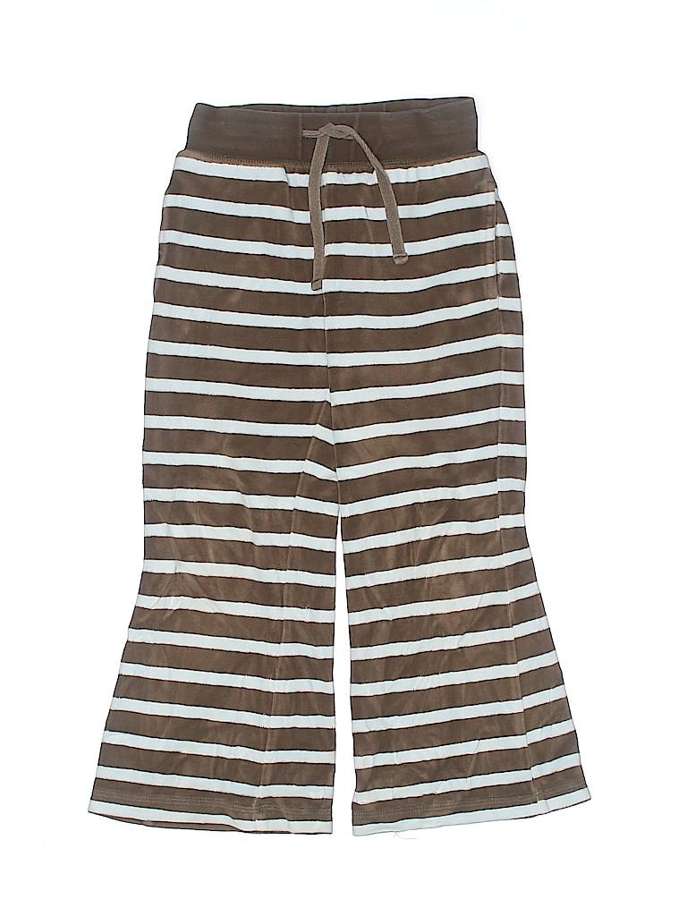 Mini Boden Girls Velour Pants Size 5 - 6