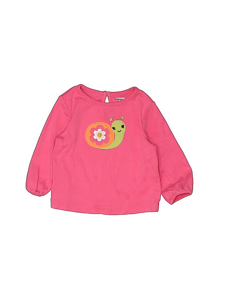 Gymboree Girls 3/4 Sleeve T-Shirt Size 12-18 mo