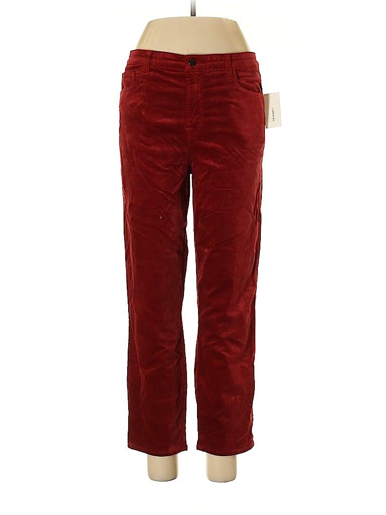 J Brand Women Velour Pants 31 Waist