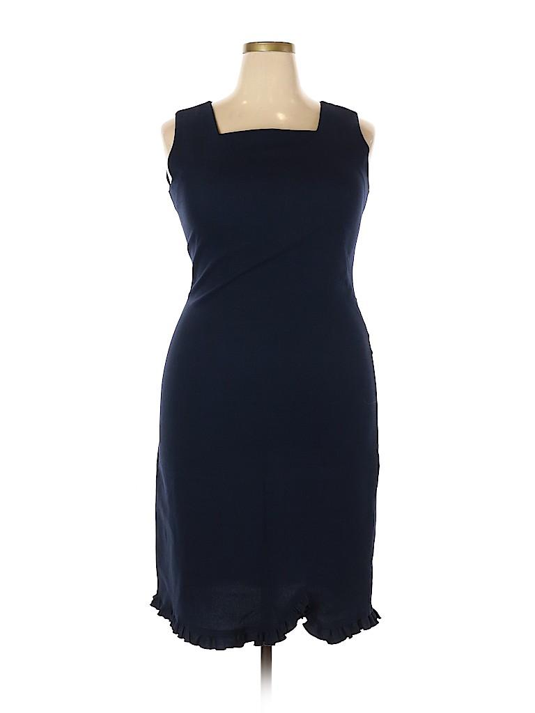 Leslie Fay Women Casual Dress Size 14