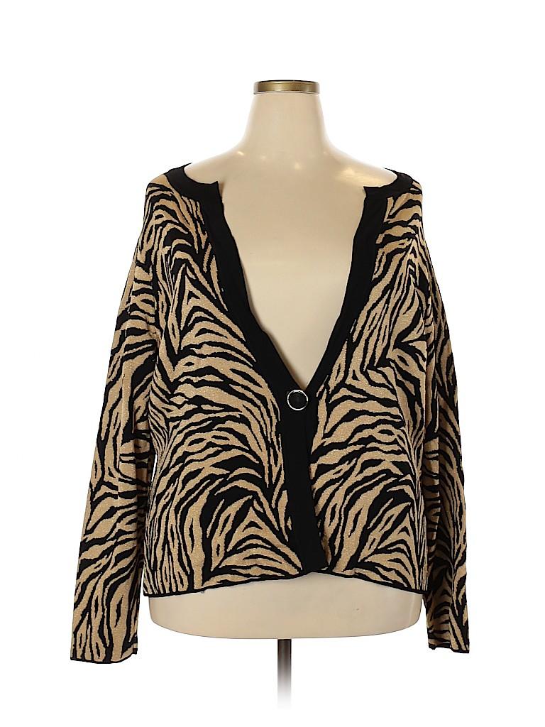 Jones New York Signature Women Cardigan Size 2X (Plus)