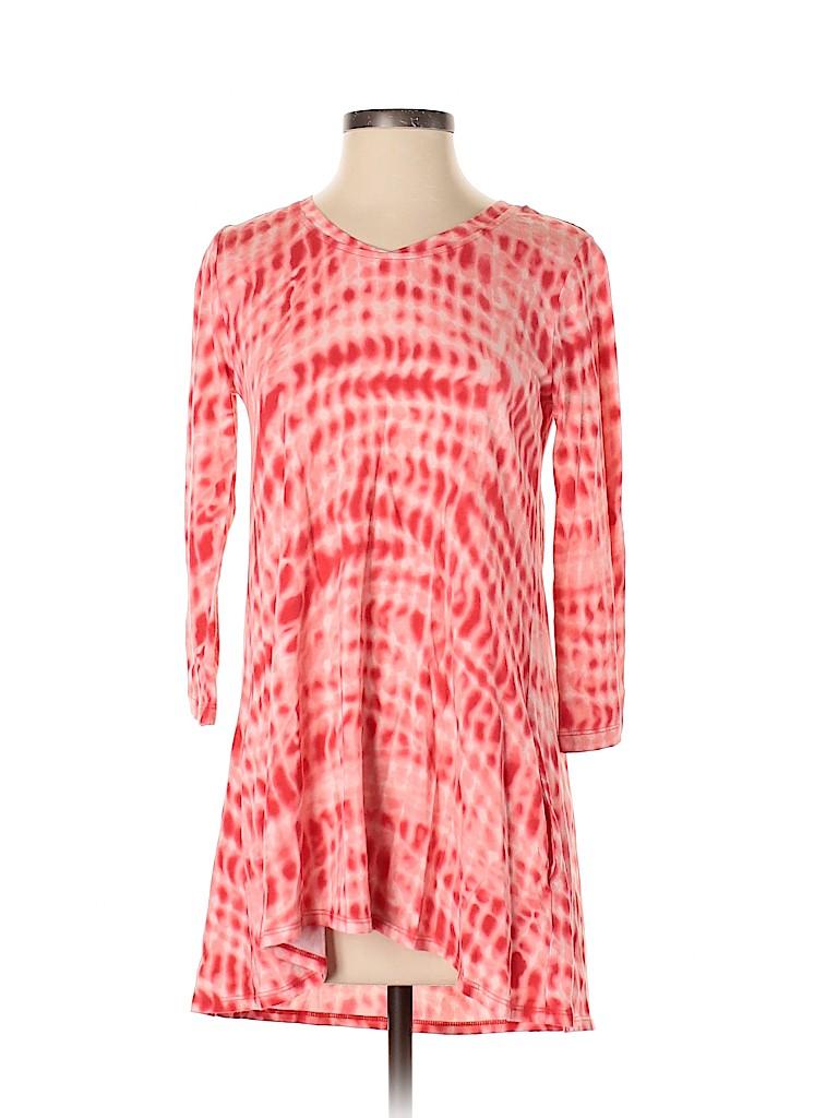 LOGO by Lori Goldstein Women 3/4 Sleeve Top Size XXS