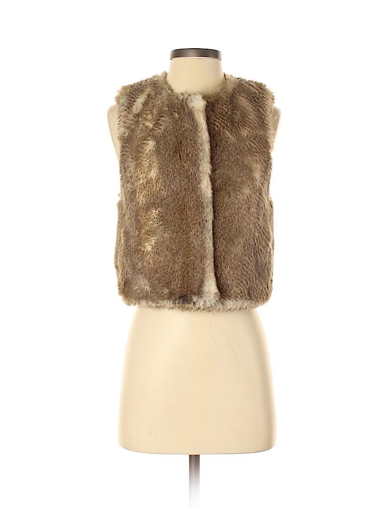 Juicy Couture Women Faux Fur Vest Size S