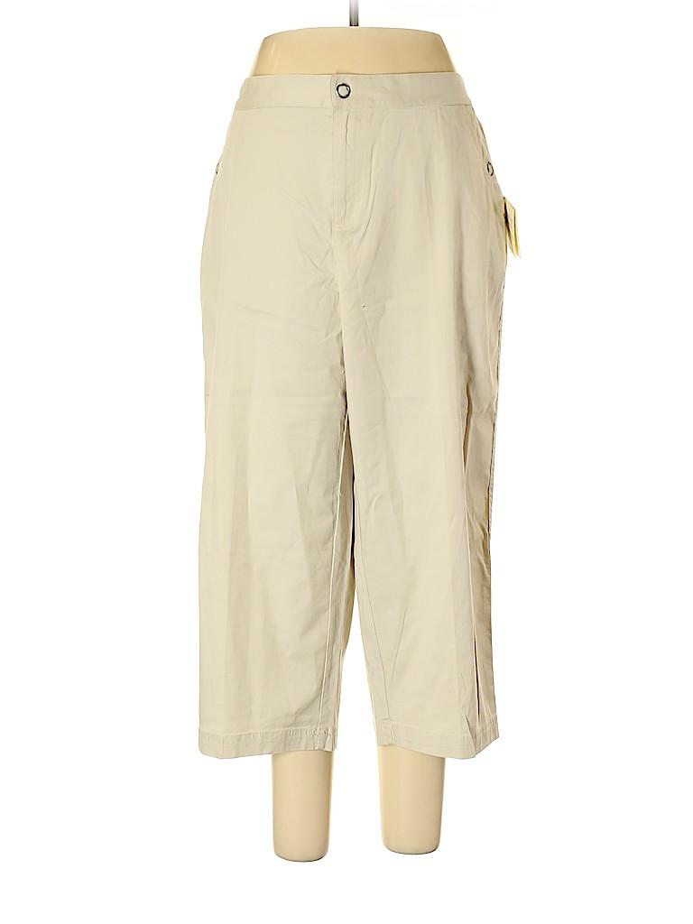 Cj Banks Women Khakis Size 16