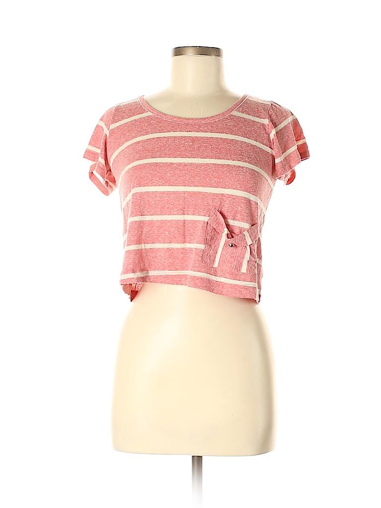 Audrey Women Short Sleeve T-Shirt Size S
