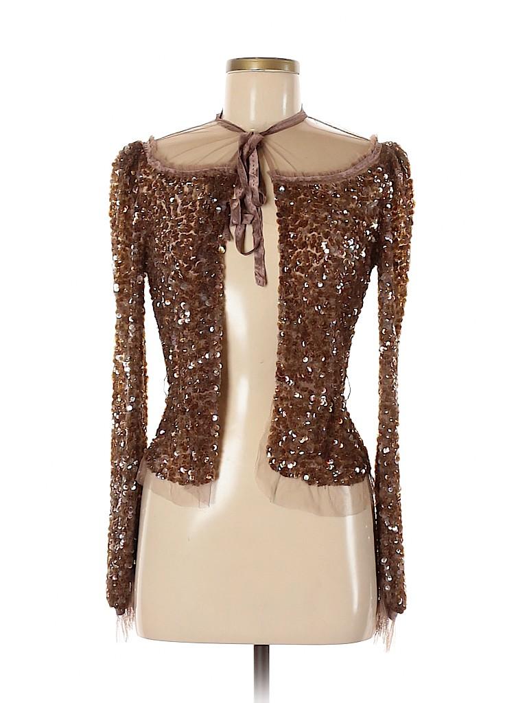 Marc Jacobs Women Silk Cardigan Size 4