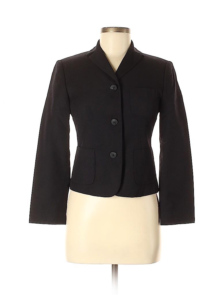 Made In Italy Of Benetton Women Wool Blazer Size 40 (EU)