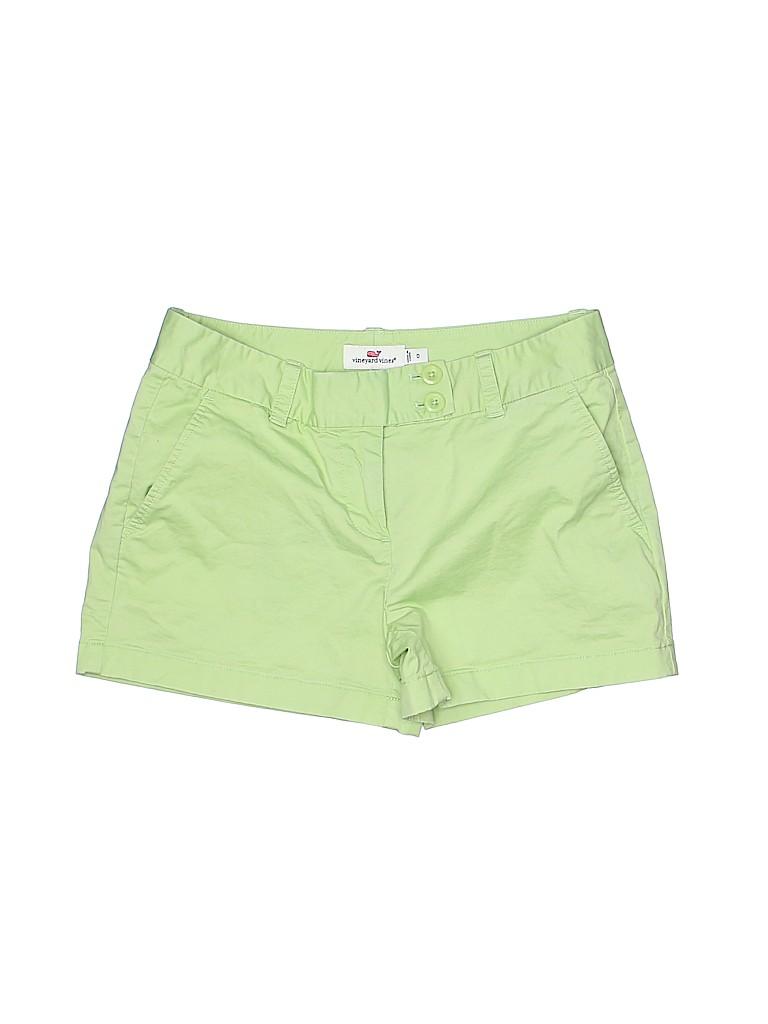 Vineyard Vines Women Khaki Shorts Size 0