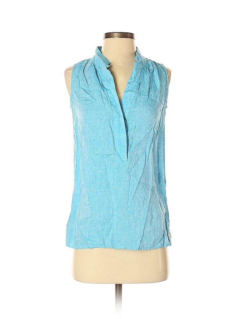 Faconnable Women Sleeveless Blouse Size 2
