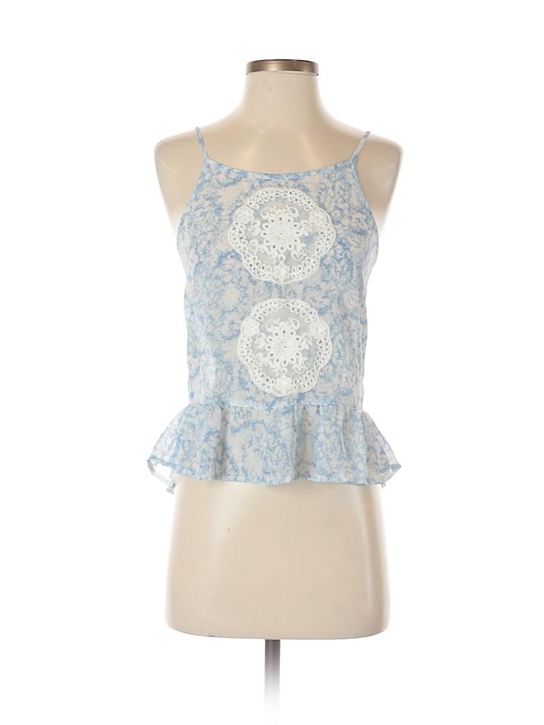 Frenchi Women Sleeveless Blouse Size XS