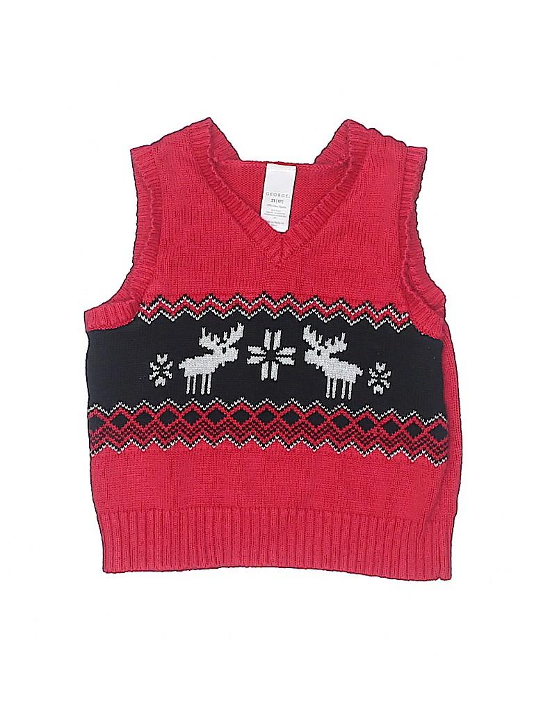 George Boys Sweater Vest Size 2T