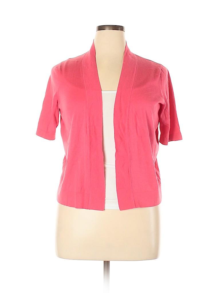 Talbots Women Cardigan Size 0X (Plus)