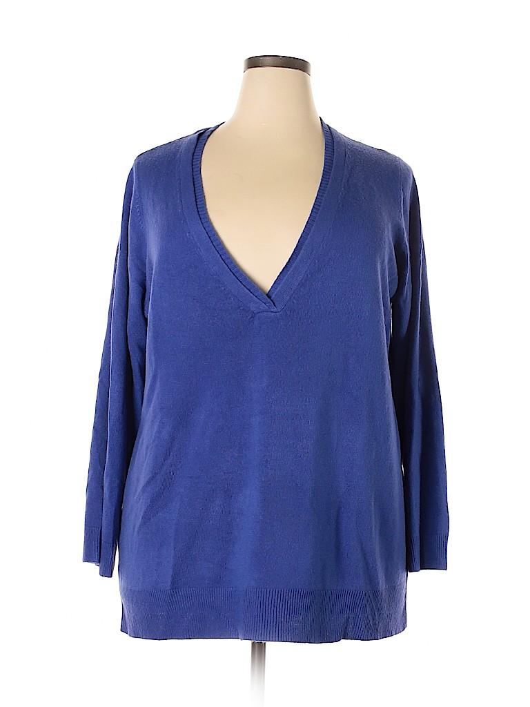 Avenue Women Pullover Sweater Size 26 - 28 Plus (Plus)