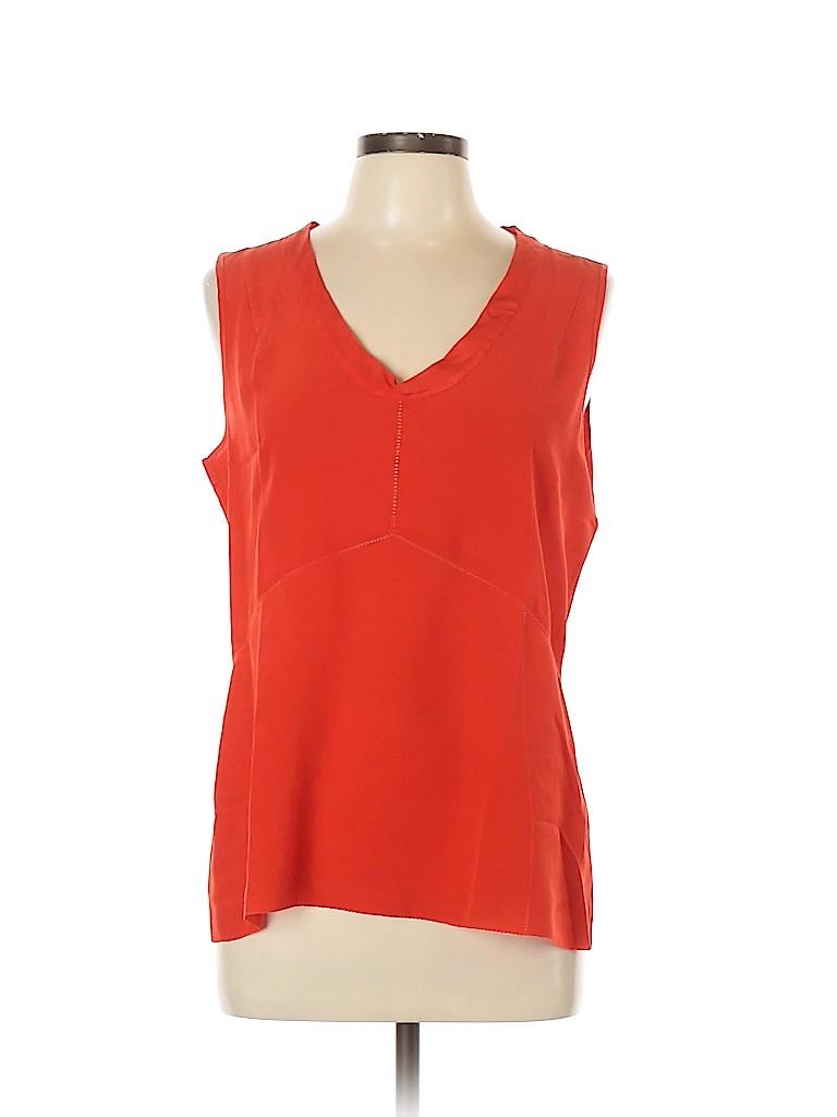Tory Burch Women Sleeveless Silk Top Size 12