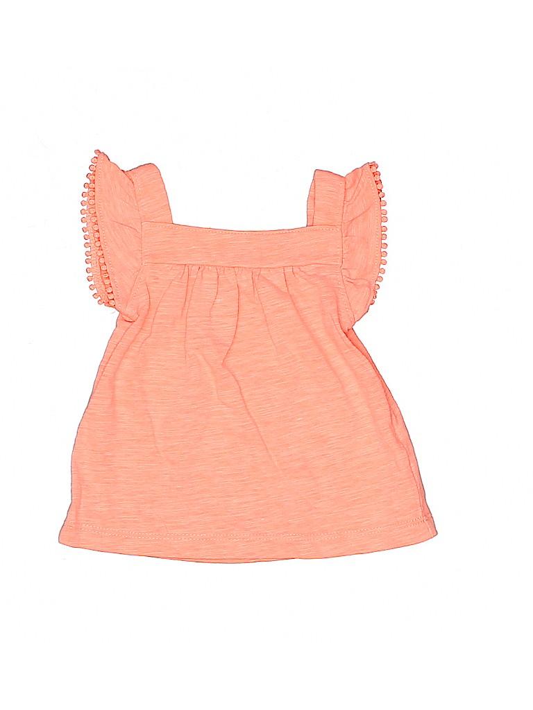 Carter's Girls Short Sleeve Top Size 6 mo