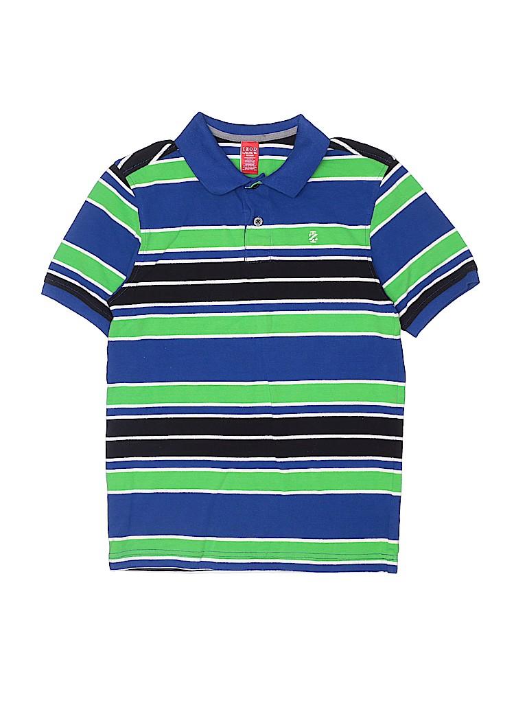 IZOD Boys Short Sleeve Polo Size L (Kids)