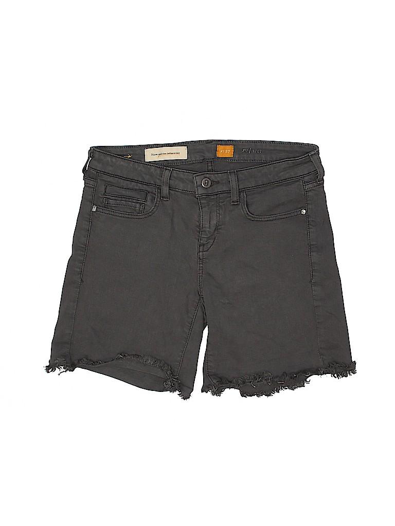 Pilcro and The Letterpress Women Denim Shorts 27 Waist