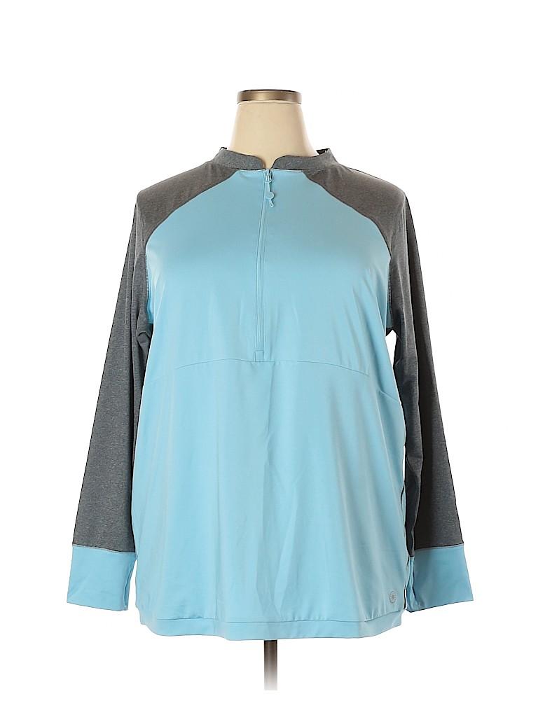 Fullbeauty Women Track Jacket Size 18 - 20 Plus (Plus)