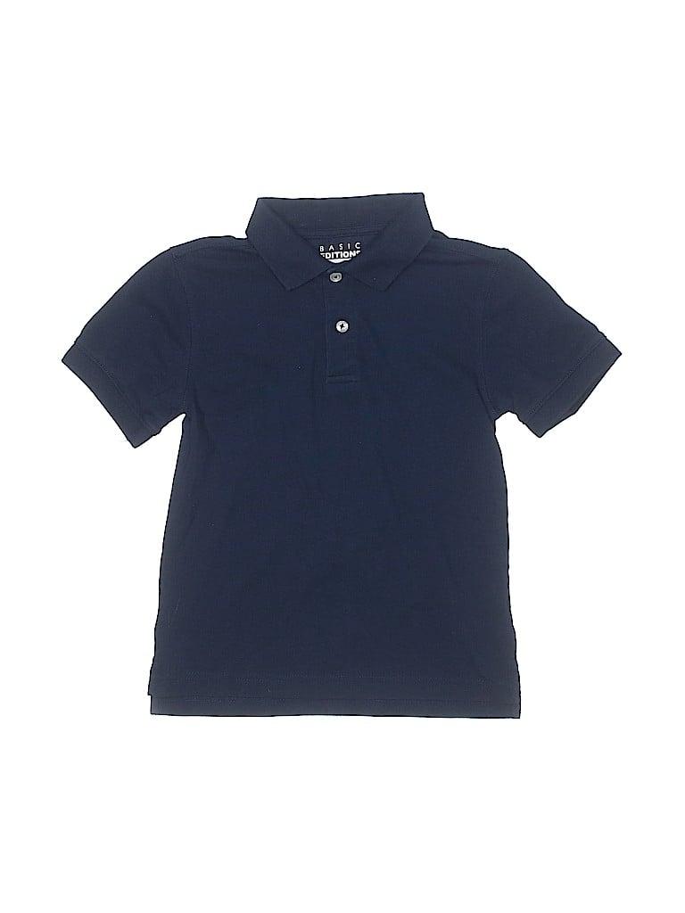 Basic Editions Boys Short Sleeve Polo Size 8
