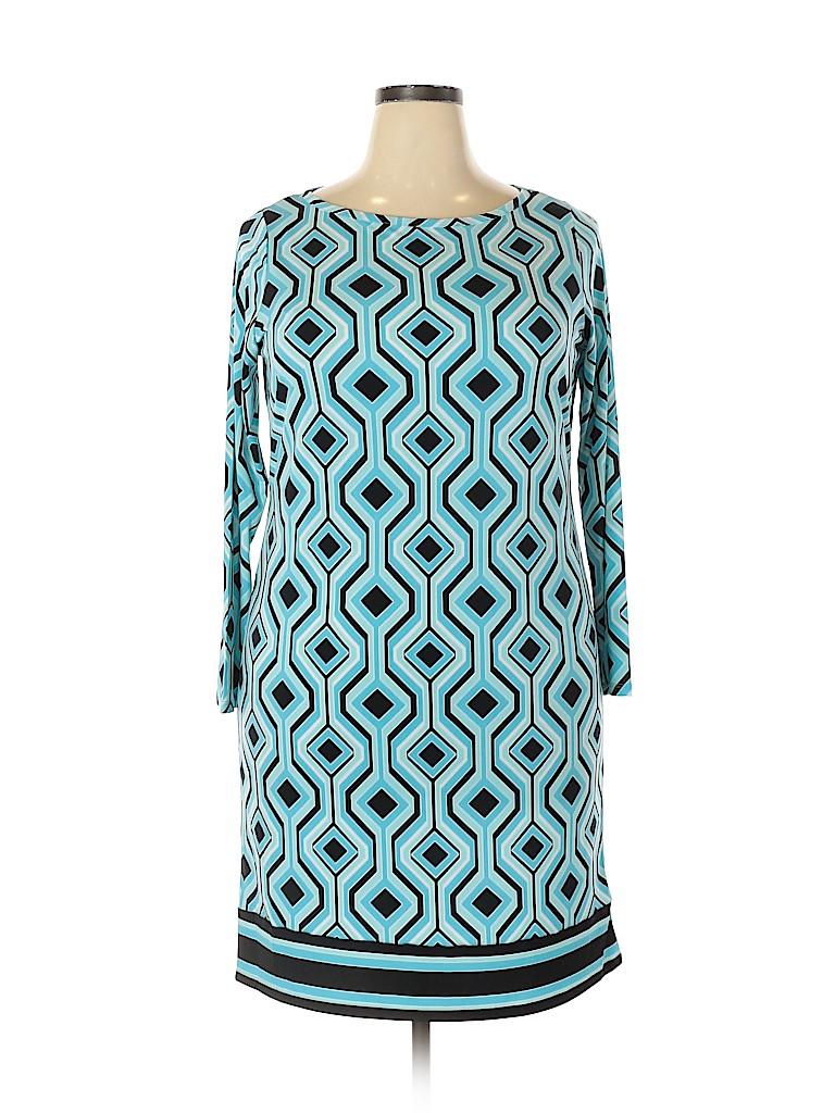 MICHAEL Michael Kors Women Casual Dress Size 1X (Plus)