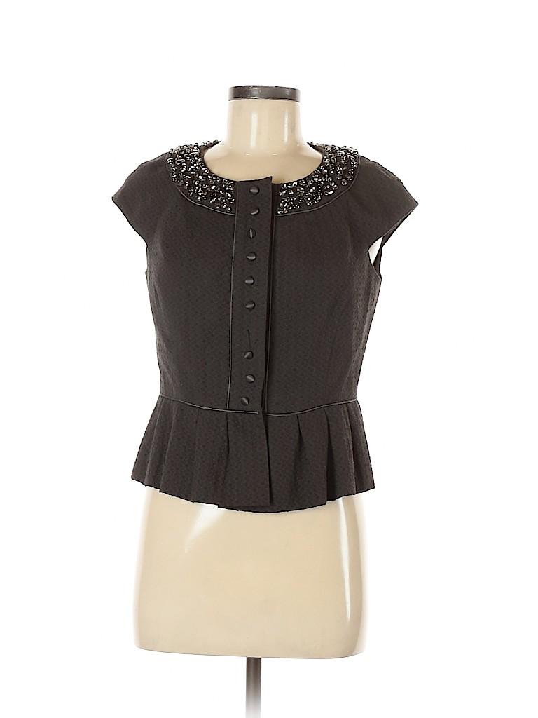 Robert Rodriguez Women Short Sleeve Blouse Size 10