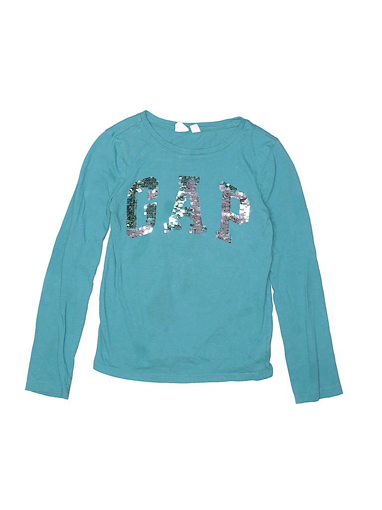 Gap Girls Long Sleeve T-Shirt Size M (Kids)