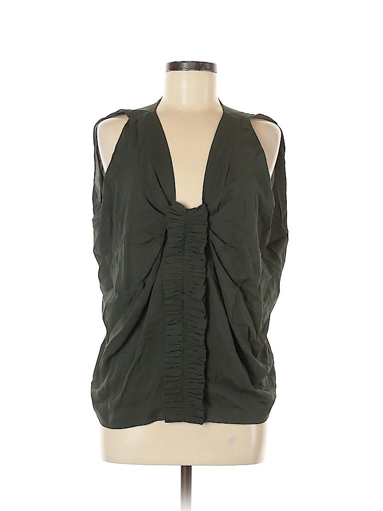 Robert Rodriguez Women Sleeveless Silk Top Size 10
