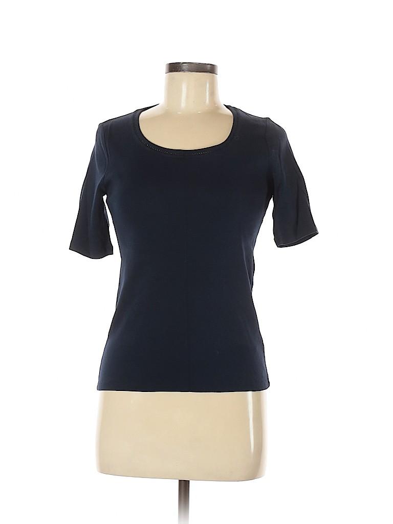 Jones New York Signature Women Short Sleeve Top Size M