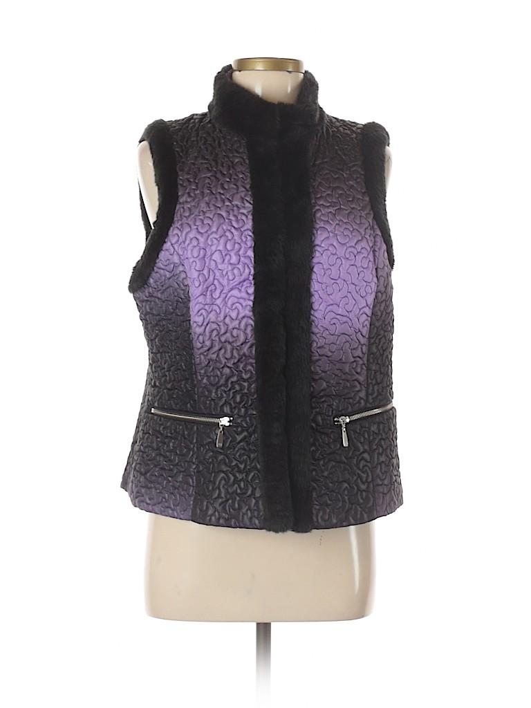 Peter Nygard Women Vest Size M