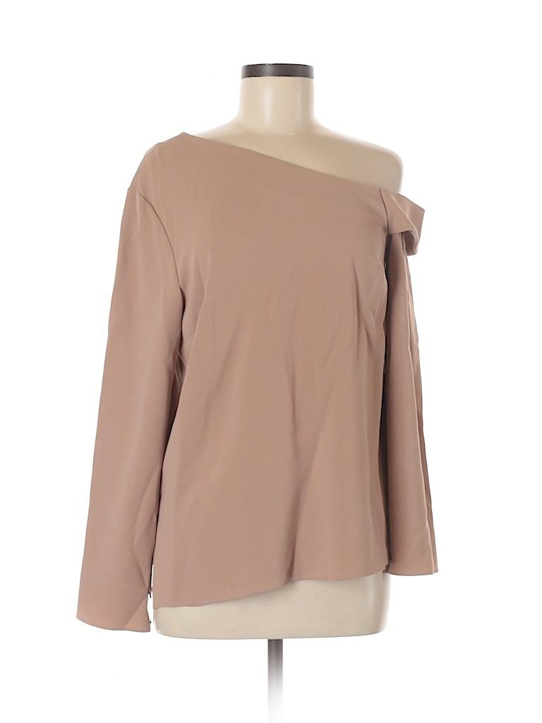 Tibi Women Long Sleeve Blouse Size 8