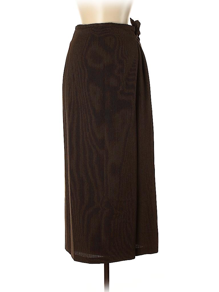 Dries Van Noten Women Wool Skirt Size 42 (EU)